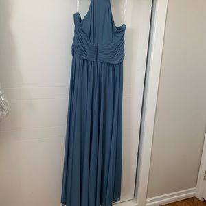 David's Bridal High Neck Dress